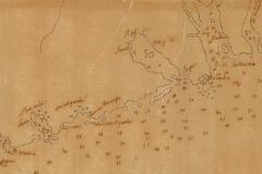 1737-Carte des côtes-ance-des-F